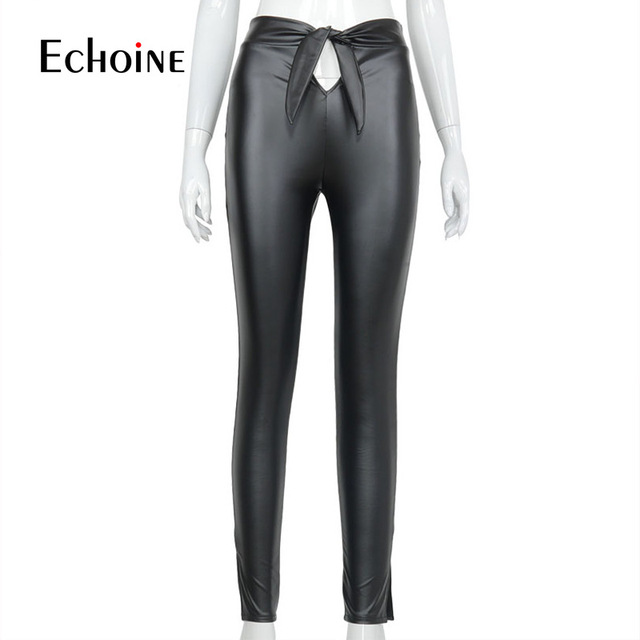 PU Leather Fashion Leggings 10
