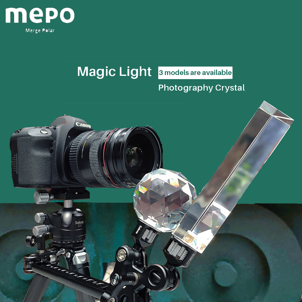 Crystal Vlogger Ball <font><b>Filter</b></font> <font><b>Camera</b></font> Optical Glass Magic Glow Effect Photo Crystal Lens Decorative Photography Studio Accessories image
