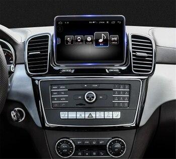 Pantalla táctil Android coche multimedia reproductor de Audio GPS Navi para Mercedes-Benz MB GLE ML clase M W166 2015, 2016, 2017, 2018 hean unidad