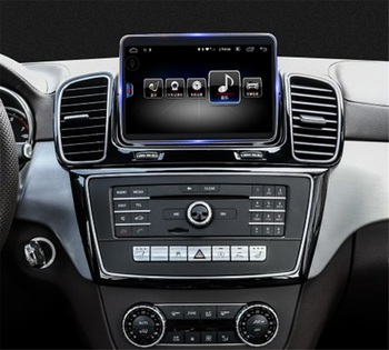 touch screen Android Car multimedia Player GPS Audio Navi for Mercedes Benz MB GLE ML M Class W166 2015 2016 2017 2018 hean unit image