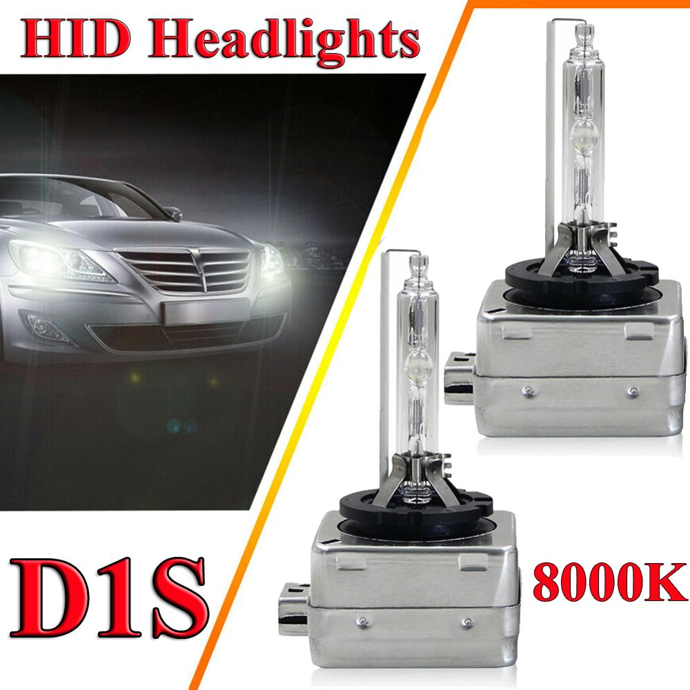 2pcs <font><b>D1S</b></font> HID <font><b>Xenon</b></font> Headlight Bulbs For Cadillac Escalade ESV EXT 2003 - 2014 <font><b>35W</b></font> <font><b>D1S</b></font> D1R D1C OEM 12V/24V Car Headlight Bulb Kit image