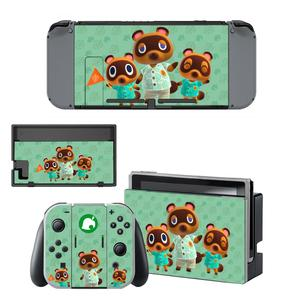 Image 2 - Vinyl Screen Skin Animal Crossing Protector Stickers for Nintendo Switch NS Console + Joy con Controller + Stand Holder Skins