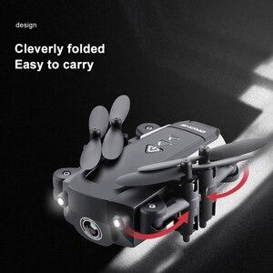 Image 2 - KK8 1080P Trực Thăng 2.4GHz 4CH 6 Trục Video Gimbal Camera Full HD RC Drone FPV Mini Có Thể Gập Lại Quadcopter một Khóa Trở Lại