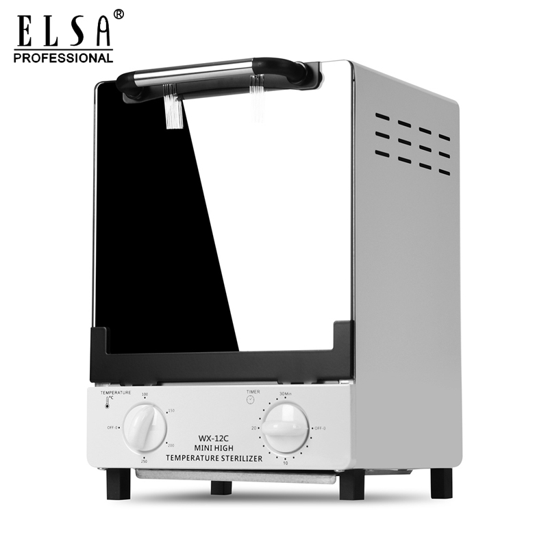 1000 Вт 12л высокотемпературный стерилизатор, коробка для дизайна ногтей, салонный Портативный стерилизатор, инструмент для маникюра, стерили