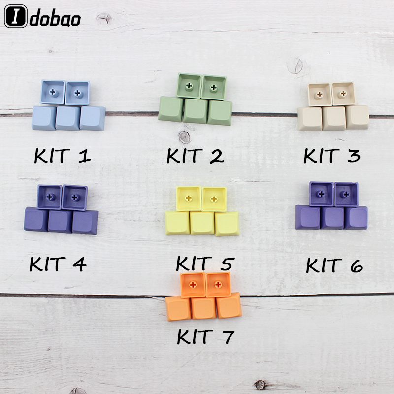 With Mixed Color XDA Keycaps Enjoypbt Blank For Cherry Mx Mechanical Keyboard Pbt Keycap Clavier Gamer xd60 xd84 Gh60 Tada68