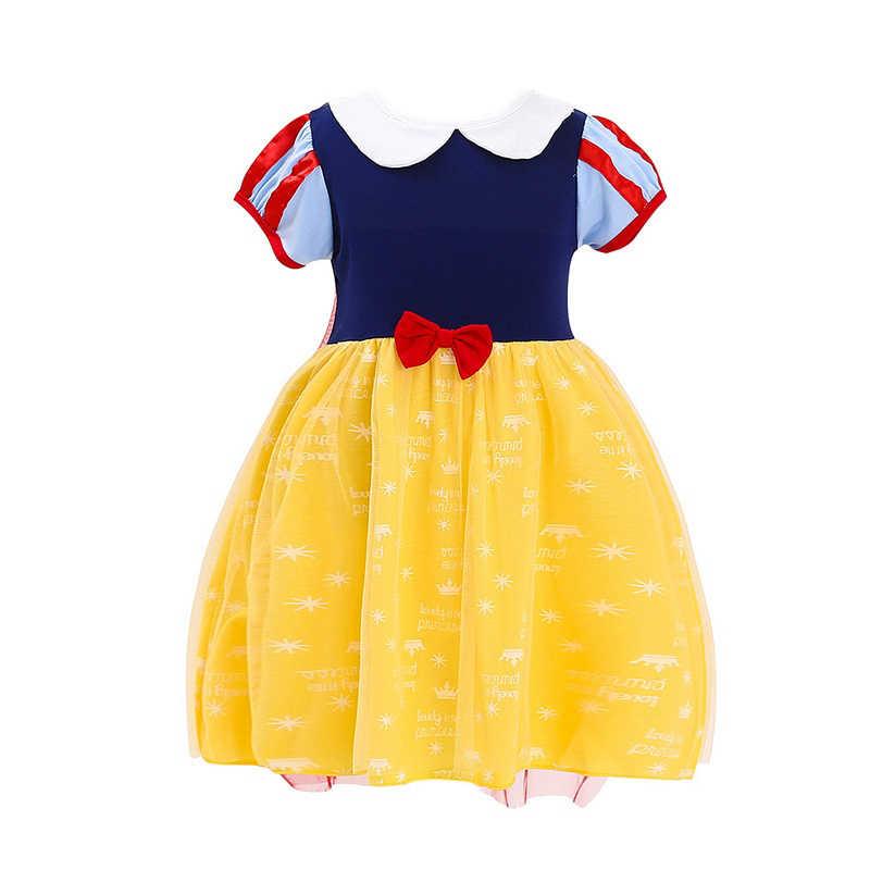 2 4 5 6 lat Baby girl księżniczka ubrania dziecko Aladdin Jasmine sukienka Mulan Tiana Elsa Anna Party Toy Story jessie Bo Peep kostium