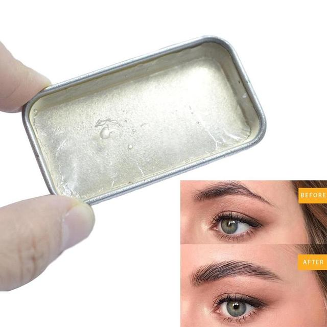 1PC Wild Eyebrow Shaping Soap 3D Feathery Brows Makeup Gel Brows Kit Long Lasting Eyebrow Setting Gel Eyebrow 5