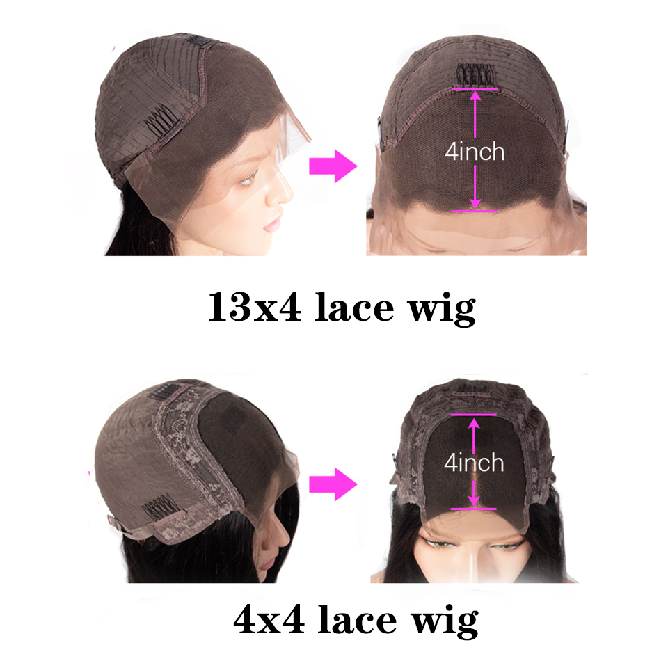 Free ShipóBOB Wig Short Human-Hair-Wigs Hair-Vsbob Curly Water-Wave Lace-Front Glueless Pre-Plucked