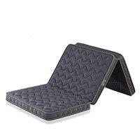 Foldable Natural Coconut Fiber Tatami Waterproof Anti Slip Folding Mattress/Mat Single Sleeping Pad Janpanese Furnitrue