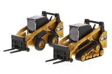 1/64 Alloy Diecast 272D2 Skid Steer Loader & 97D2 Compact Track Loader 85609 Engineering Car Model In Stock