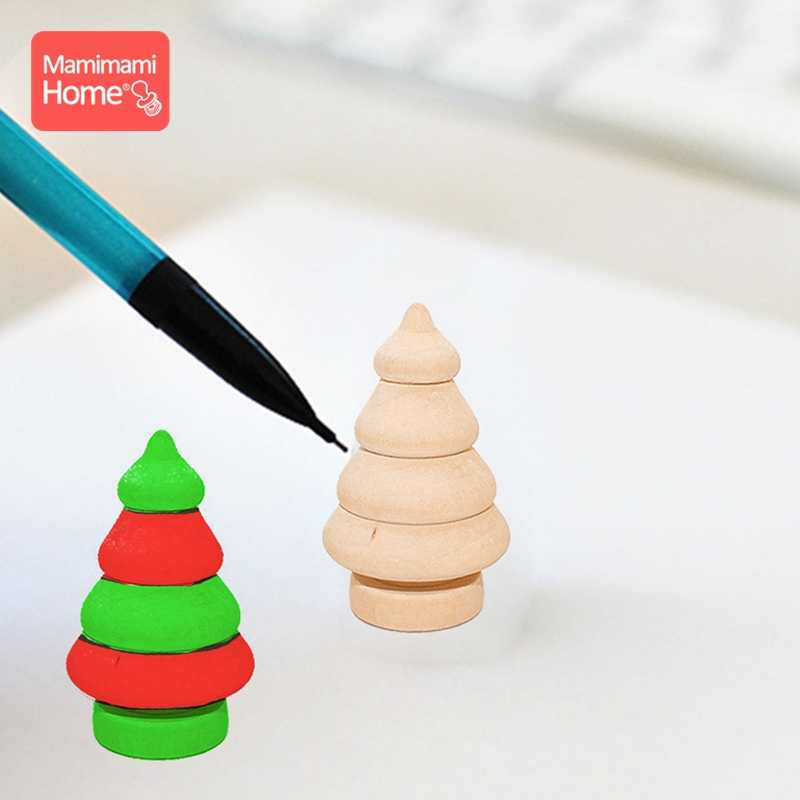 20 шт./лот, деревянные кукольные игрушки, Рождественская елка, сосновые шишки, деревянные пустые грызуны ручной работы, игрушки для девочек, детские товары, подарок для медсестры