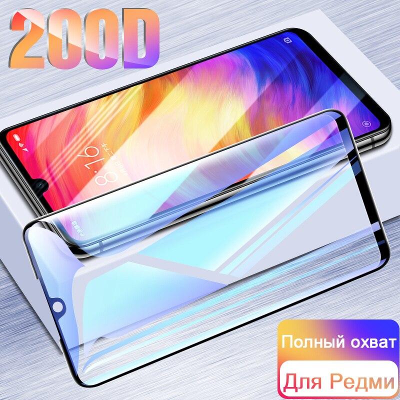 200D Tempered Glass For Xiaomi Redmi 7 7A K20 Pro 8A 8 Screen Protector MI 9T Pro 9se 9Pro CC9 CC9E Protective Glass On Redmi 7