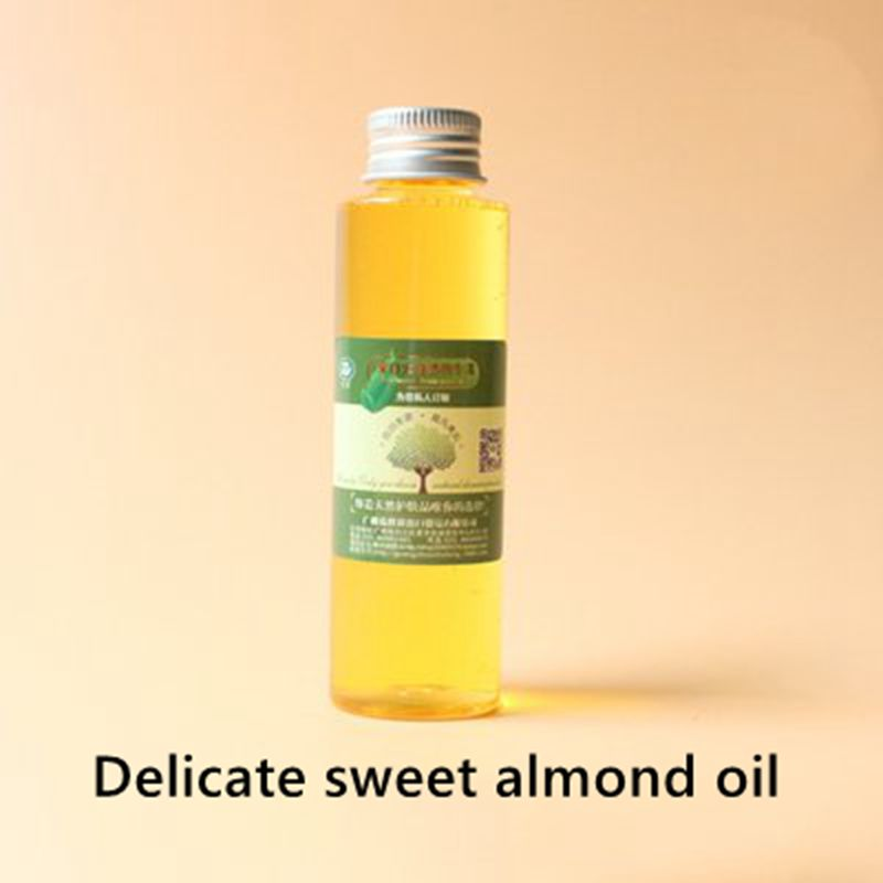Купить с кэшбэком Delicate sweet almond oil, good skin affinity, moisturize the skin, soften the skin, massage the whole body