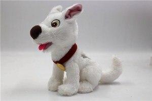 Image 1 - Болт Собака Щенок белая собака плюшевая кукла чучела животное игрушка мальчики девочки детские игрушки для детей Подарки