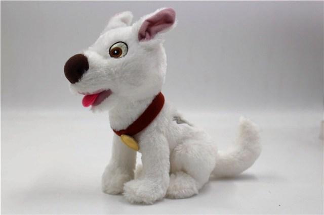 Болт Собака Щенок белая собака плюшевая кукла чучела животное игрушка мальчики девочки детские игрушки для детей Подарки