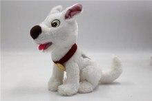 Cıvata köpek yavru beyaz köpek peluş doldurulmuş hayvan oyuncak erkek kız çocuk oyuncakları çocuklar için hediyeler