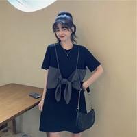 Yamamoto Stil Hepburn Schwarz Kleid Hong Kong Geschmack Salz Süße Kleine Licht Luxus Flab Versteckt Super Fee Mädchen Kleid Sommer