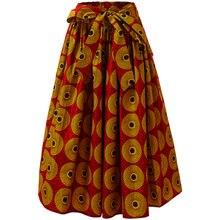 Африканская одежда для женщин юбки длинная юбка с традиционным