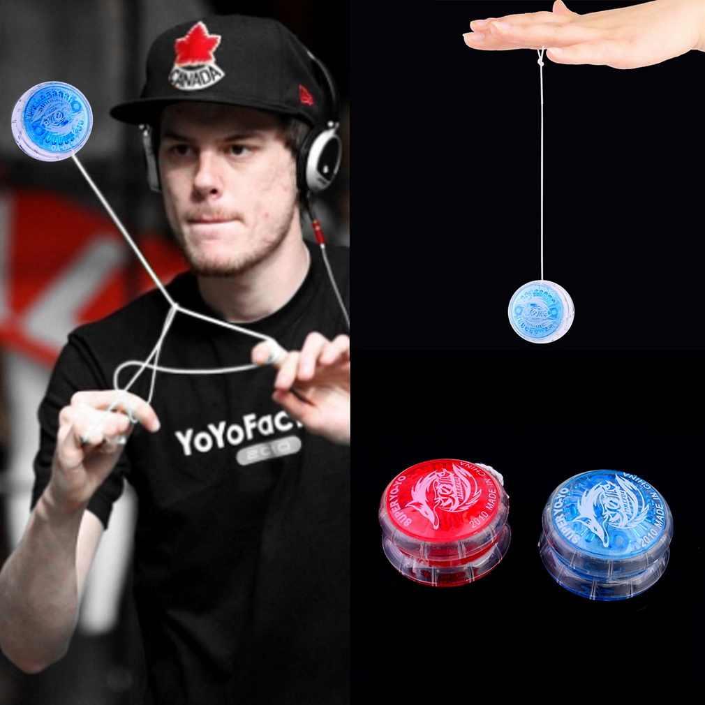 Caldo! 1pc di Plastica Facile Da trasportare Yo-Yo Del Partito Colorato Yo-Yo Yo-Yo Giocattoli Per I Bambini Del Ragazzo Giocattoli del Regalo Nuovo di Vendita