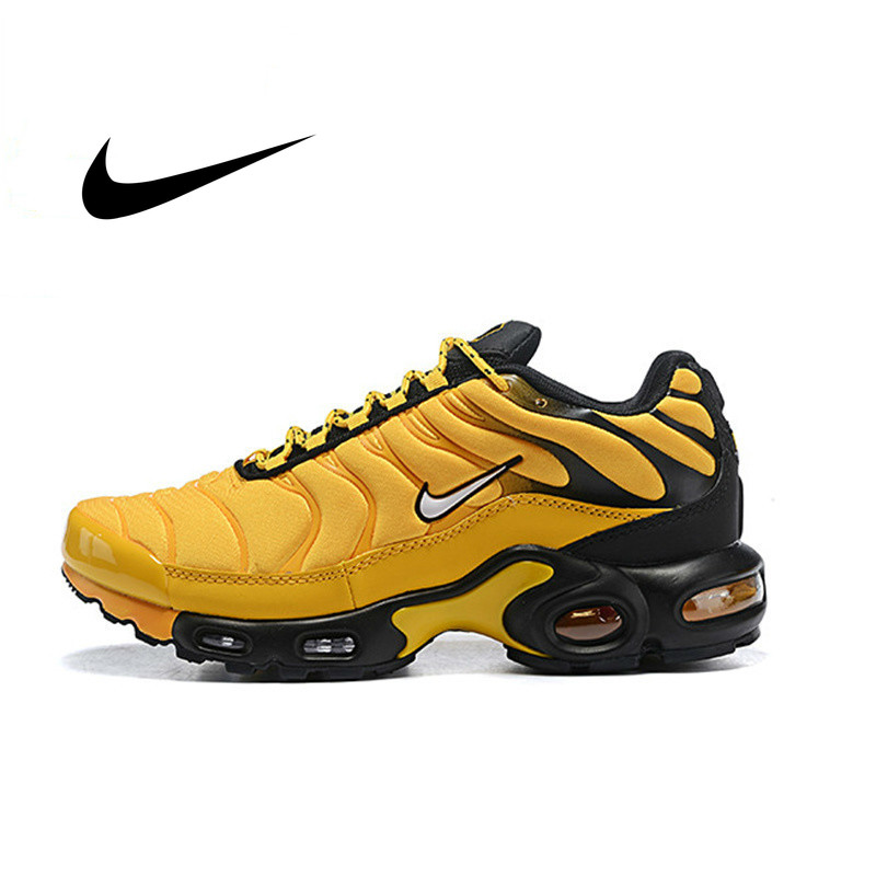 Original Authentic Nike Air Max Plus Men's Running Shoes Sneakers Breathable Athletic Designer New Arrival 2019