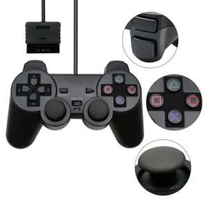 Image 5 - For PS2 Wired Controller Gamepad Manette For Playstation 2 Controle Mando Joystick For playstation 2 Console Accessory