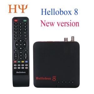 Image 1 - 1pc Hellobox 8 לווין מקלט DVB T2 DVBS2 משולבת טלוויזיה תיבת Twin טיונר תמיכת טלוויזיה לשחק על טלפון סט למעלה תיבת לווין finder