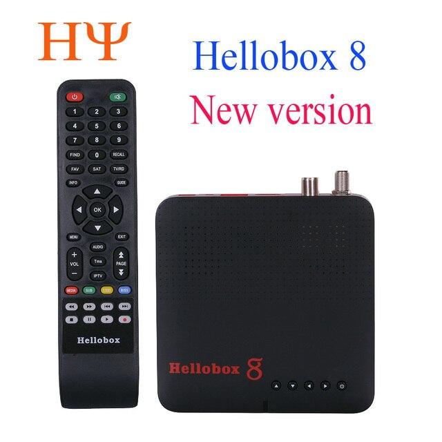 1pc Hellobox 8 לווין מקלט DVB T2 DVBS2 משולבת טלוויזיה תיבת Twin טיונר תמיכת טלוויזיה לשחק על טלפון סט למעלה תיבת לווין finder