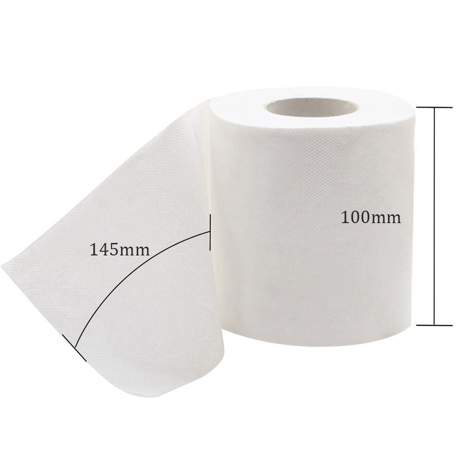 White Toilet Paper Household Soft Skin-Friendly Napkins Bath Cleansing Tissues for Home Kitchen Dining Room Bathroom Restaurant Office School 10 Pack of Paper Towels B