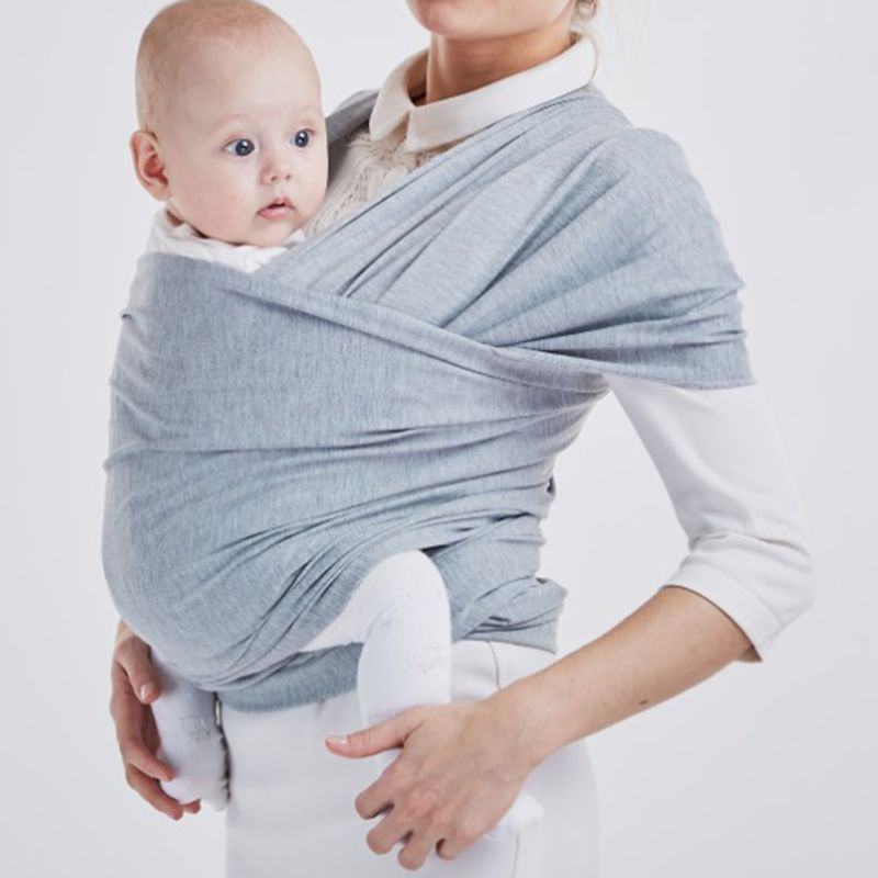 Perfect Baby Carrier Wrap Sling For Newborn And Infant Soft And Breathable Strap D7YD