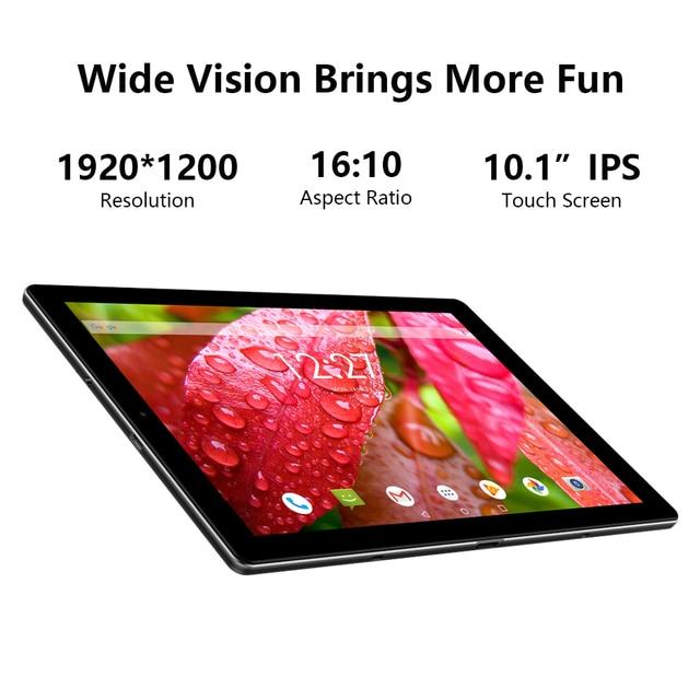 Tablet PC Chuwi - Tela de 10.1 Polegadas - Sistema Operacional Android 10 - 6GB de memoria RAM -  Processador Octa-Core - 128GB Armazenamento Interno -   Suporte 4G  2