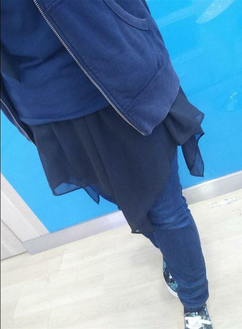 Eid Mubarak Islam Muslim Groups Skirt Extender Irregular Sport Skirts Caftan Marocain European Clothing