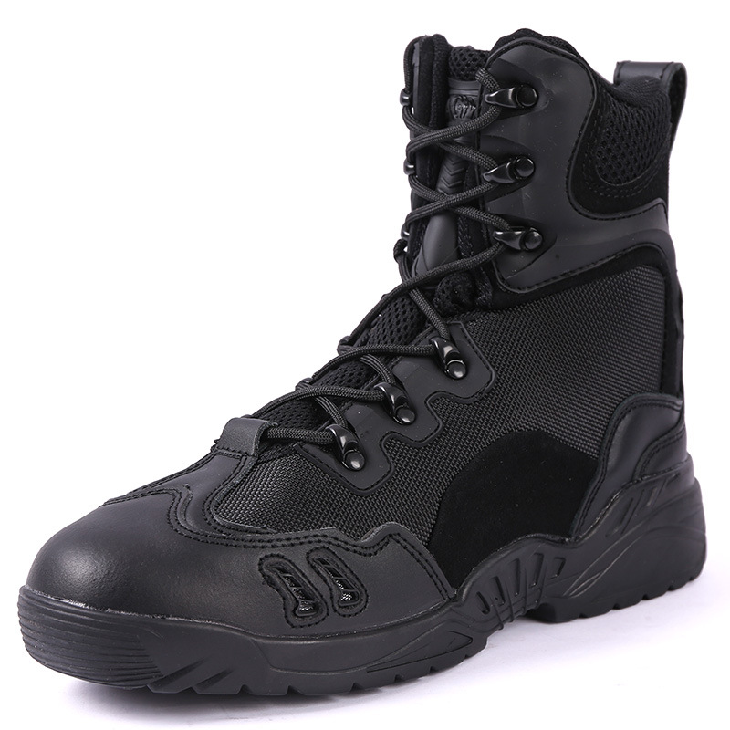 Hight-top Tactical Boots Outdoor Desert Combat Boots Hiking Shoes Shock Absorption Magnum Spider-Man Boots