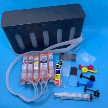 YOTAT CISS PGI-520 CLI-521 cartucho de tinta para Canon PIXMA IP3600 IP4600 IP4700 MX860 MX870 MP540 MP550 MP560 MP620 MP630 (Europa)