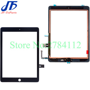 10Pcs Touch Planel replacement for iPad 6 2018 6th Gen A1893 A1954 touch screen digitizer front lcd outer glass with Adhesive(China)