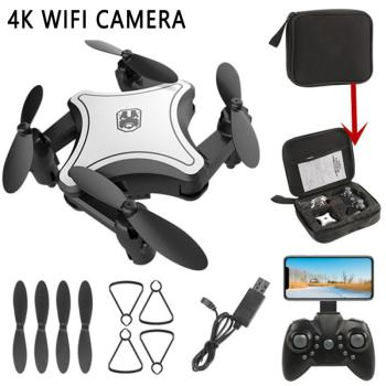 KaKBeir XS816 RC Drone with 50 Times WiFi FPV 4K /720P Dual Camera Optical Flow Quadcopter Selfie Dron RC Quadcopte xmas gifts