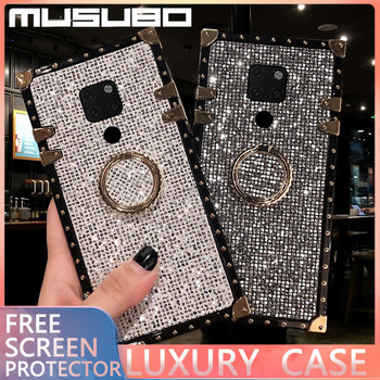 MUSUBO Glitter Diamond Case For Honor 20 Pro 10i 10 8a 8X 9X Shockproof Phone For Huawei Mate 30 20 Pro P30 P20 lite Cover Coque