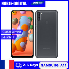 Samsung – Smartphone Galaxy A11, Version globale, 2 go 32 go, double SIM, 6.4 pouces, Triple caméra principale 13mp, Android 10, 4000mAh, téléphone portable, code: SUPERDEALS601