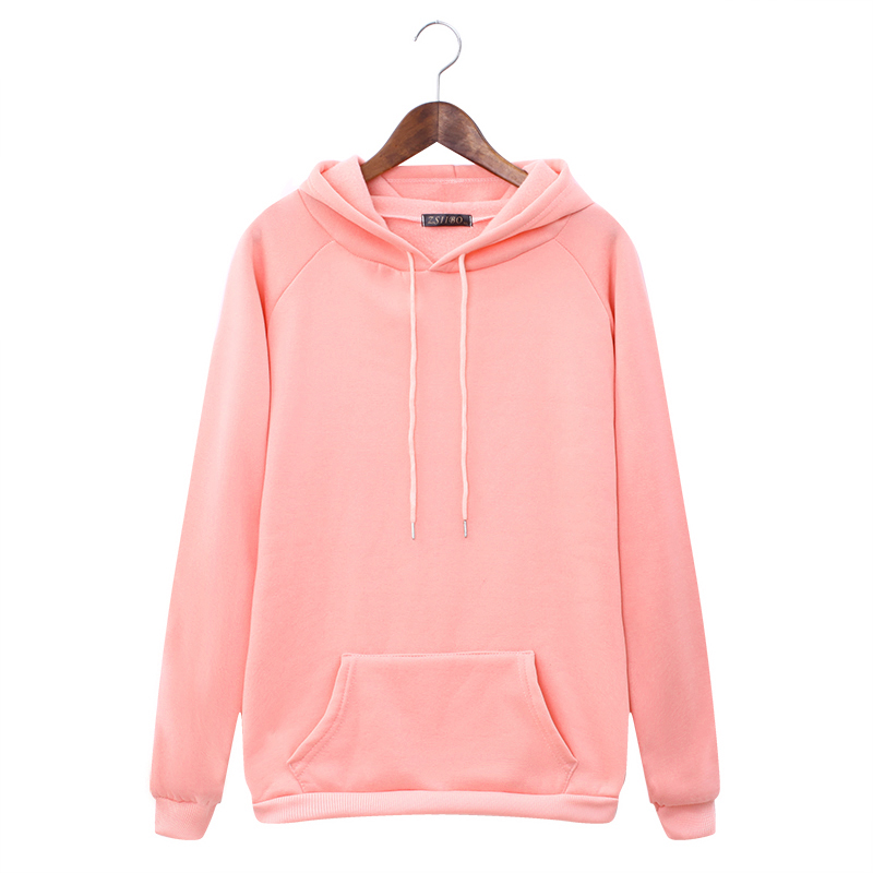 H2ec612d7a7df40e58cf87808530824f5Z - Autumn winter Harajuku Solid Sweatshirt Women Long Sleeve Hoodie Loose Women Hoodies Sweatshirts Casual Tracksuit