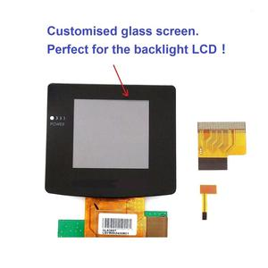 Image 5 - Haute lumière pour GBC rétro éclairage rétro éclairage écran LCD pour GameBoy couleur Console pour GBC Console verre écran tournevis gratuit!