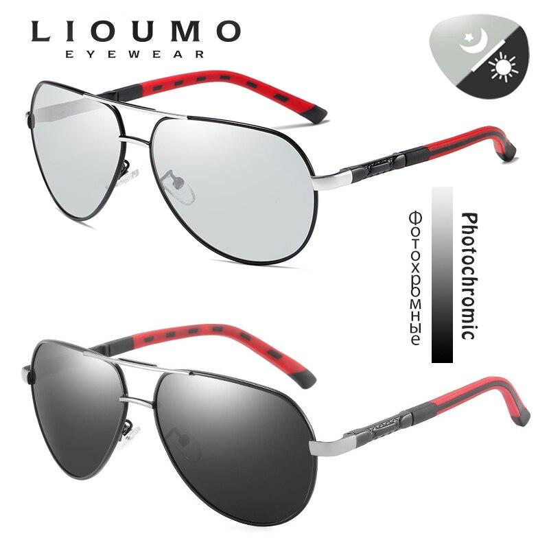 Image 2 - Fashion Design Pilot Sunglasses Men Polarized Safe Driving Glasses Photochromic Women Male Drivers Eyewear gafas de sol hombreMens Sunglasses   -
