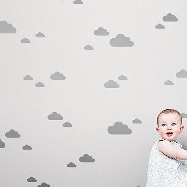 מדבקות קיר - עננים 1