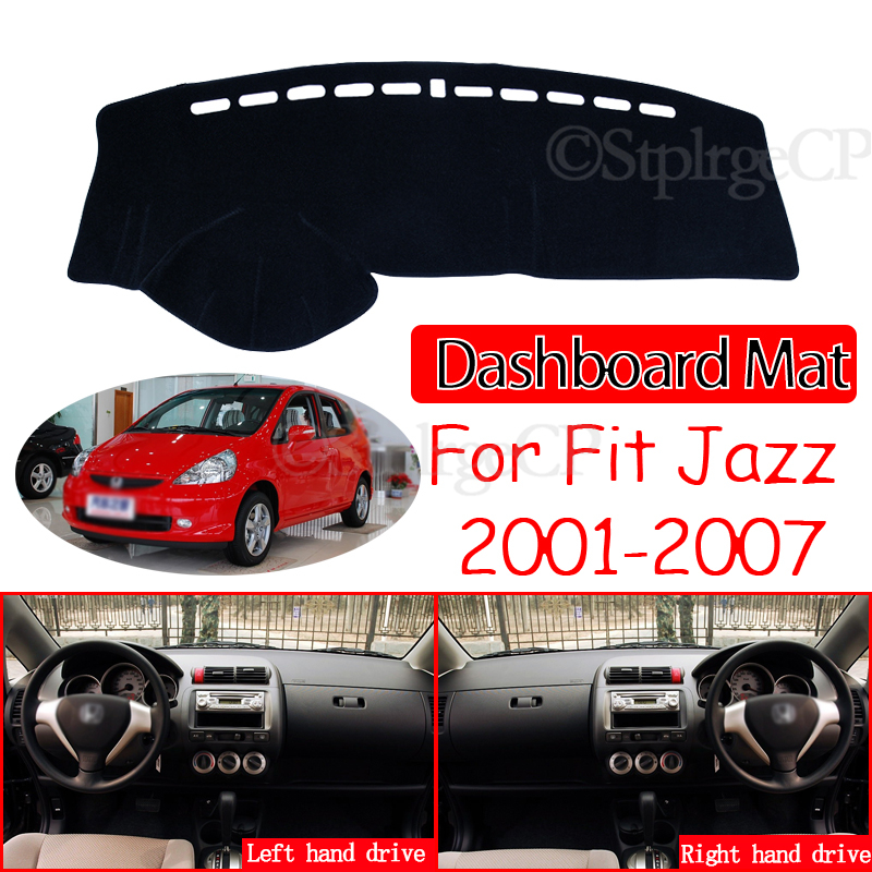 Противоскользящий коврик для приборной панели для Honda Fit Jazz 2001 ~ 2007, накладка, Солнцезащитный коврик, защитный ковер, аксессуары GD1 GD3 GD5 2005 2006