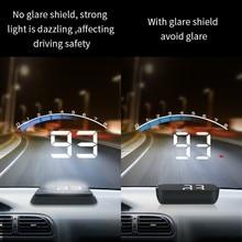 Écran tête haute automatique HUD M6s pour voiture, avertisseur de vitesse, pare-brise, alarme, nouveau, 2021