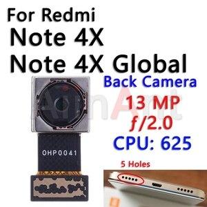 Image 5 - מקורי קטן מצלמה קדמית להגמיש עבור Xiaomi Mi Redmi הערה 4 4A 4X פרו הגלובלי עיקרי גדול חזור אחורי מצלמה להגמיש כבל
