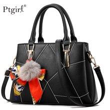 Women PU leather handbags famous brands Ptgirl crossbody bag for women fashion