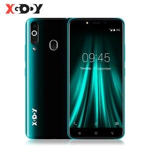 """Image 1 - هاتف XGODY 4G بصمة 2GB 16GB أندرويد 6.0 الهاتف الذكي المزدوج سيم 5.5 """"18:9 MTK6737 رباعية النواة 5MP نظام تحديد المواقع الهاتف المحمول K20 برو"""
