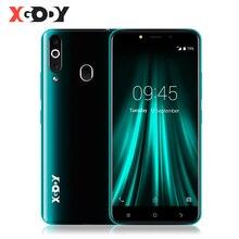 """XGODY 4G linii papilarnych telefon komórkowy 2GB 16GB Android 6.0 Smartphone Dual Sim 5.5 """"18:9 MTK6737 czterordzeniowy telefon komórkowy 5MP GPS K20 Pro"""