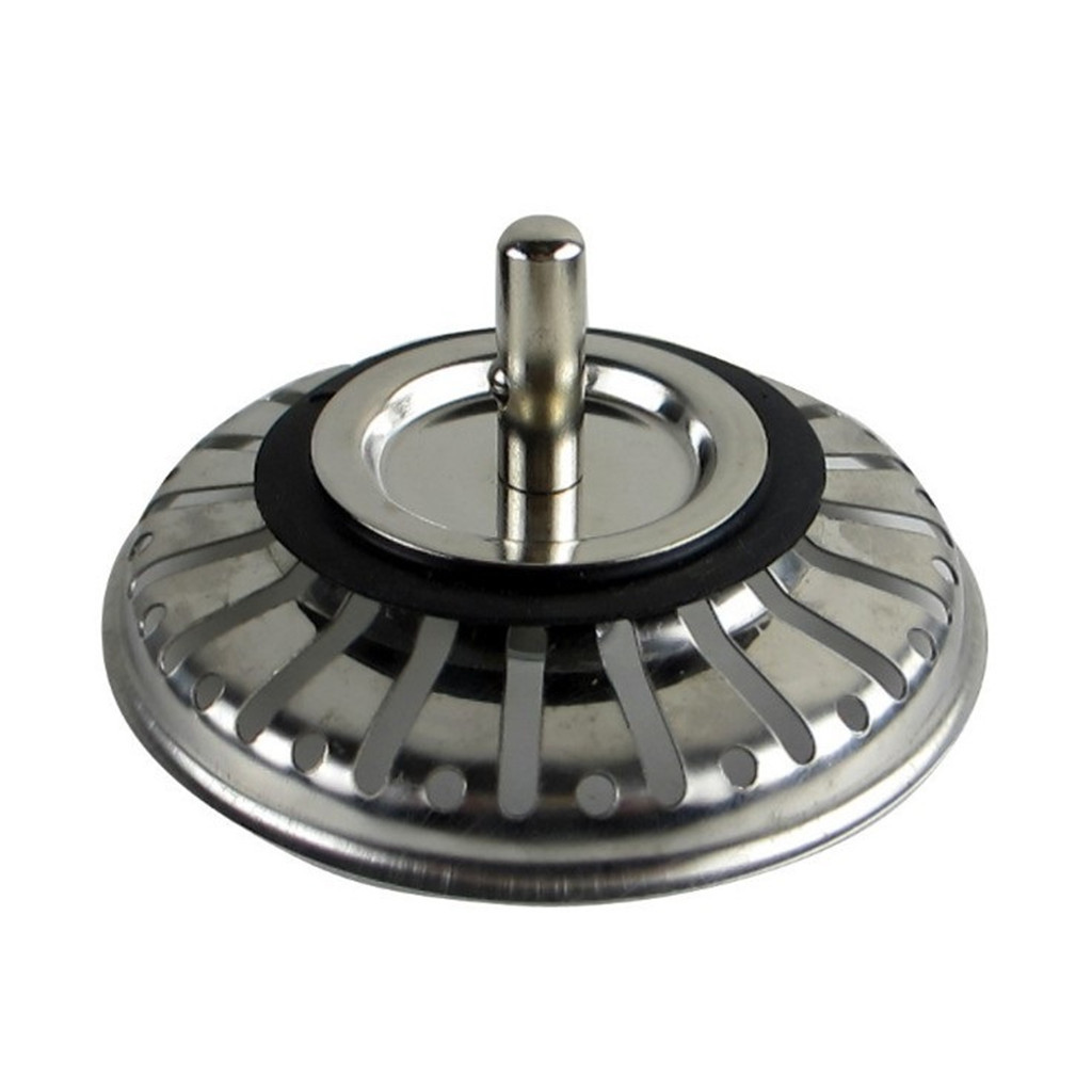 Kitchen Drains Anti-blocking Stainless Steel Pool Sink Sewer Filter For Kitchen Bathroom Hair Catcher Drains Strainers