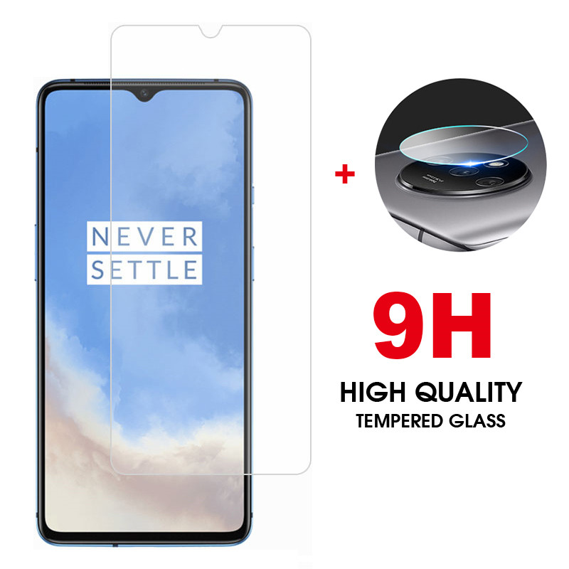 2 In 1Tempered Glass For Oneplus 7t Pro Screen Protector Camera Lens Film 9H Protective Glass For Oneplus-7t-pro Oneplus7t Glass