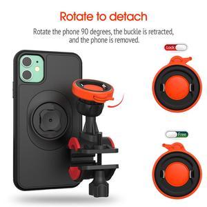 Image 2 - Suporte universal para celular de bicicleta, suporte giratório para celular e para iphone 11pro xs max xr 8plug 76,